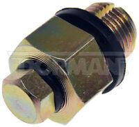 Dorman 65209 Oil Drain Plug Piggyback 1/2-20 D.O., Head Size 3/4 In.