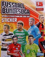 Panini Topps Bundesliga 2016  2017 - 10 Sticker aus Liste aussuchen .