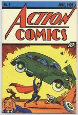 SUPERMAN # 37 - FLIP-COVER GERMAN REPRINT ACTION COMICS #1 - DINO VERLAG - TOP