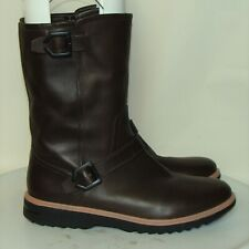 NEW! COLE HAAN GRAND BROWN LEATHER WATERPROOF WINTER BOOTS SIZE 11M   DB1