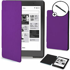 Forefront Cases® Purple Shell Smart Case Cover Kobo Aura Edition 2 Stylus