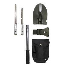 Outdoorset 6 in 1 mit Tasche Multitool Multifunktionsset Messer Spaten  Survival