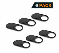 6X WebCam Cover Slide Camera Privacy Security Protect Sticker For Macbook Laptop