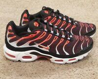 Nike Air Max Plus OG Size 11.5 Mens Black Crimson Hot Lava 852630-034 Running
