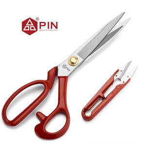 """10"""" Professional PIN Tailoring Dressmaking Scissors/Shears + Thread Nipper"""