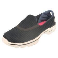 Zapatos planos de mujer mocasines Skechers color principal negro
