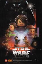 Star Wars Celebration VII Lego Disney Promo Poster Episode 3 Darth Vader