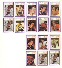 1970-71 ESSO POWER PLAYERS STICKERS LOT of 16 ORR SAVARD VACHON PARENT PARK RC
