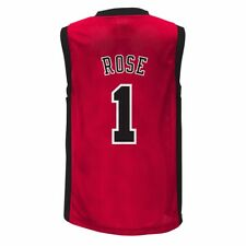 Derrick Rose Chicago Bulls Youth Red Replica Jersey (Youth 4-18)