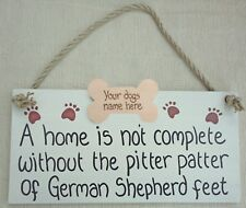A home is not complete without the pitter patter of German shepherd feet,