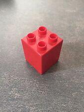 LEGO ® Duplo Brick Pietra 2x2x2 31110 RED ROSSO 5649 4665 3774 5609 3618 5601 4664