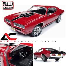 "AUTOWORLD AMM1153 1:18 1968 PONTIAC ROYAL BOBCAT GTO RED ""CLASS OF '68"""