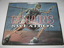 SWEATBOX by HENRY ROLLINS - RARE 2 CD AUDIO SET : Live 1987 Comedy Gig