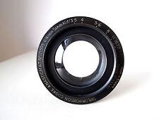 """TAYLOR HOBSON COOKE XI 6 1/4"""" f3.5 Fast Triplet Vintage Brass Camera Lens Rarest"""