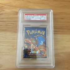 Pokemon PSA 10 1st Edition CHARIZARD Art English Base Set Booster Pack (SEALED)