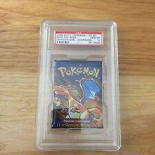 Pokemon PSA 10 1st Edition CHARIZARD Art English Base Set Booster Pack (SEALED)