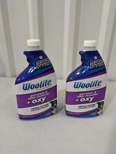 Woolite Pet Stain and Odor Remover Plus Oxy 22oz 2 Pack No Spray Nozzle Open Box
