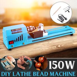Metalldrehmaschine Mini Drehmaschine Lathe DIY Holzbearbeitung 24V Drehbank DE