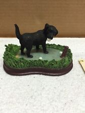 Flambro Sportsman Collection Lab Retrieving Golf Balls Figurine