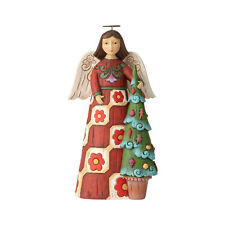Jim Shore Christmas Folklore Angel With Tree New 2018 6001448