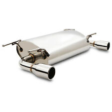 """3"""" STAINLESS EXHAUST REAR SILENCER BACKBOX FOR MAZDA MX5 MX-5 NC 1.8 2.0 05-15"""