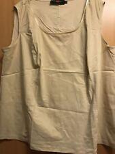 Sallie Sahne T-Shirt ärmellos Top Troja P 54
