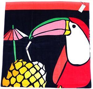 "New Vera Bradley Toucan Party 33"" x 66"" Beach Pool Towel"