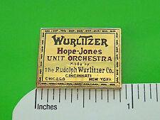 WURLITZER ORGAN  - hat pin , hatpin , lapel pin , tie tac GIFT BOXED