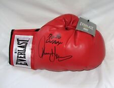 FULL SIZE BOXING GLOVE SIGNED BY THOMAS HEARNS AND ROBERTO DURAN  COA