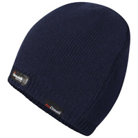 Adults Pro Climate Ski Knit Waterproof and Windproof Thinsulate Beanie Hat Mens