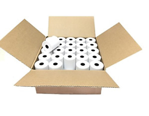 3 1/8 x 230' Thermal Paper Roll, For Cash Register POS 25 ROLLS BPA FREE Rolls