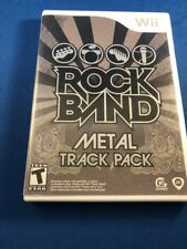 Wii Rock Band Metal Track Pack