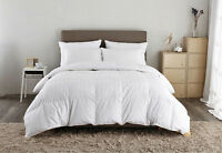 LUXURY WHITE GOOSE 100% PURE HUNGARIAN GOOSE DOWN DUVET QUILT