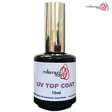 Millennium Nails 15ml UV Gel Top Coat Professional Quality False/Natural Nails