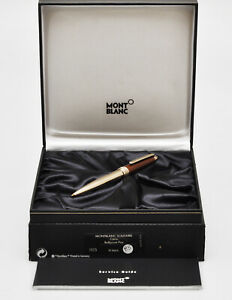 Montblanc Solitaire Citrine S23770-7573 ballpoint pen New Old Stock in box 85