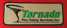 Tornado Thru Tubing Services Inc oil field jacket size patch 4 X 10