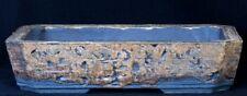 Bonsai - Schale - Dana Skodova - Handarbeit - braun/grau 41 x 28 x 9 cm - 138