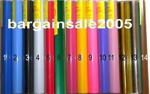 VINYL ROLLS - Vinyl Cutter Plotter 6 rolls, best price