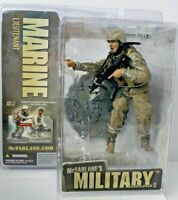McFarlane's Military Action Figure Redeployed 2 Marine Lieutenant Factory Sealed