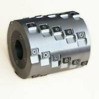 """Planing and Jointing Spiral Cutter Head L=2""""- 10"""" D=5 1/2"""" ( with inserts)"""