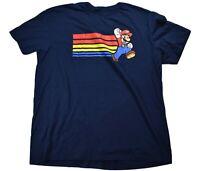 Super Mario Mens Mario Shirt New XL, 2XL
