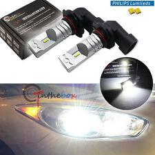 2PCS White 9005 HB3 Philips Luxen LED Daytime Running Lights/High Beam Bulbs