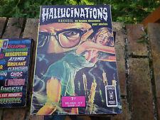 HALLUCINATIONS recueil 3226 contenant 44  et 45 ARTIMA 1975 comme neuf