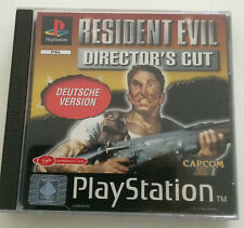 PS 1 gioco-Resident Evil-Director 's Cut-Versione tedesca (USK 18) TOP!!!