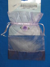 "GIFT BAG-SHEER LAVENDER -7""  X  7"""
