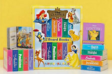 Set Of 12 Disney Classics Books In Carry Case ~New Free Shippin