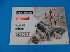 Marklin 0307 Seinboek NL 1957