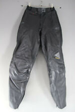 "HEIN GERICKE STREETLINE LEATHER BIKER TROUSERS/ARMOUR: WAIST 24""/INSIDE LEG 28"""