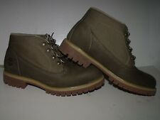 Timberland Earthkeeper Campsite Mens Mid Hiking Boot (Green) NEW Mens Sz 9.5