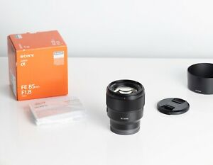 Sony FE 85mm f/1.8 Lens in Excellent condition